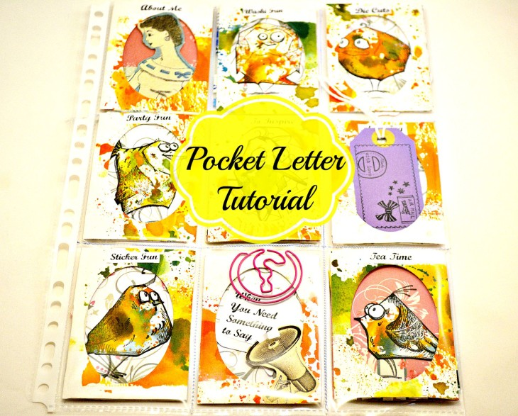 how to create a pocket letter
