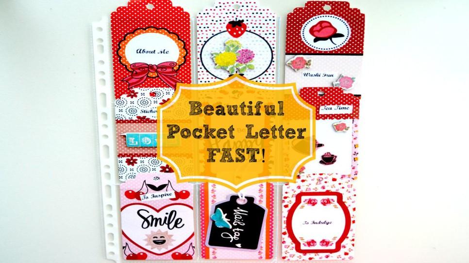 Creating a Pocket Letter Fast